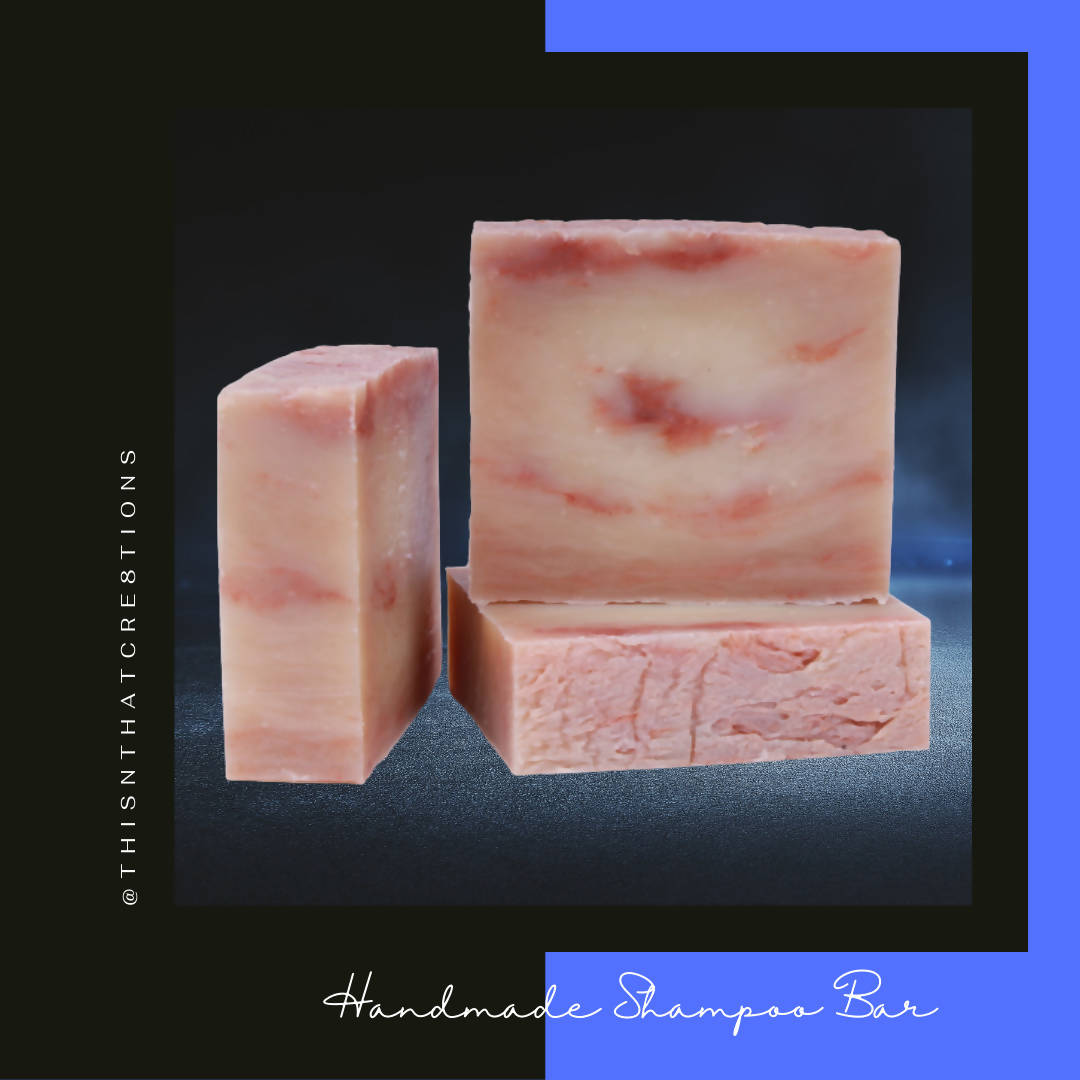 Cherry Almond Aloe Shampoo Bar