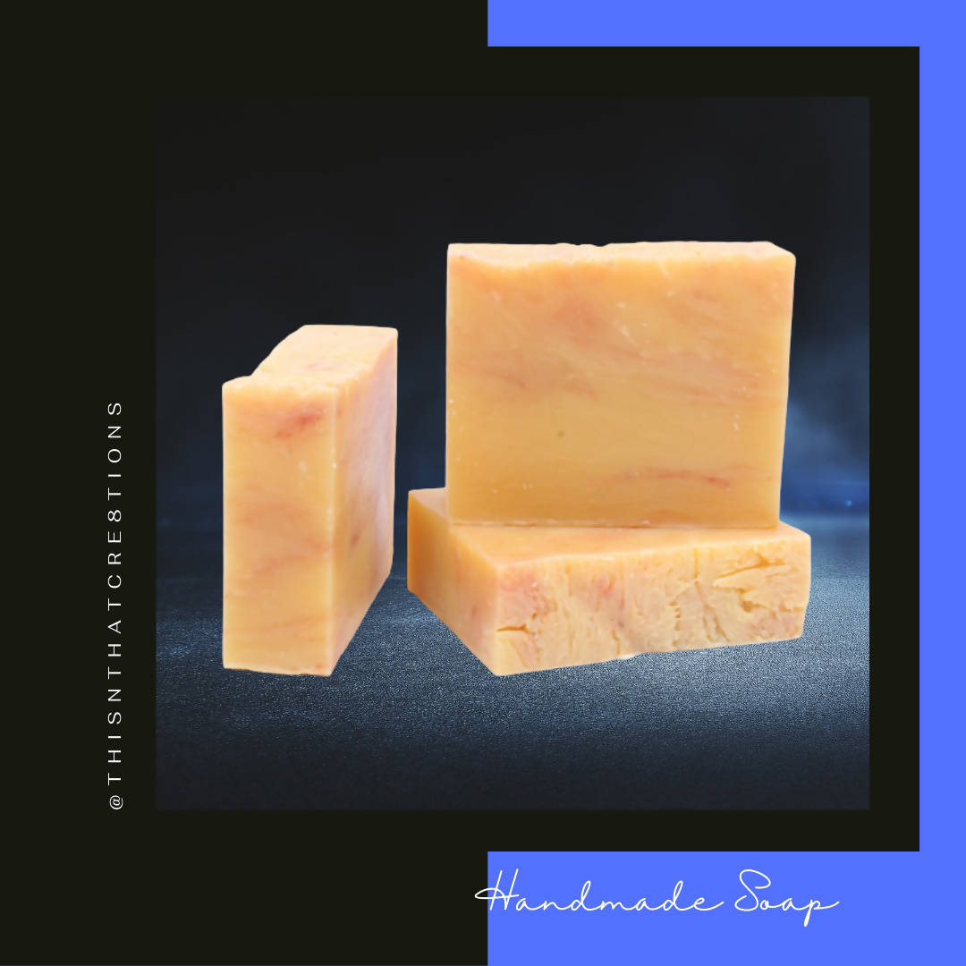 Grapefruit Margarita Handmade Soap