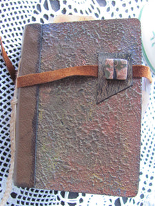 """Art-to-use -- hand-made Journal"""