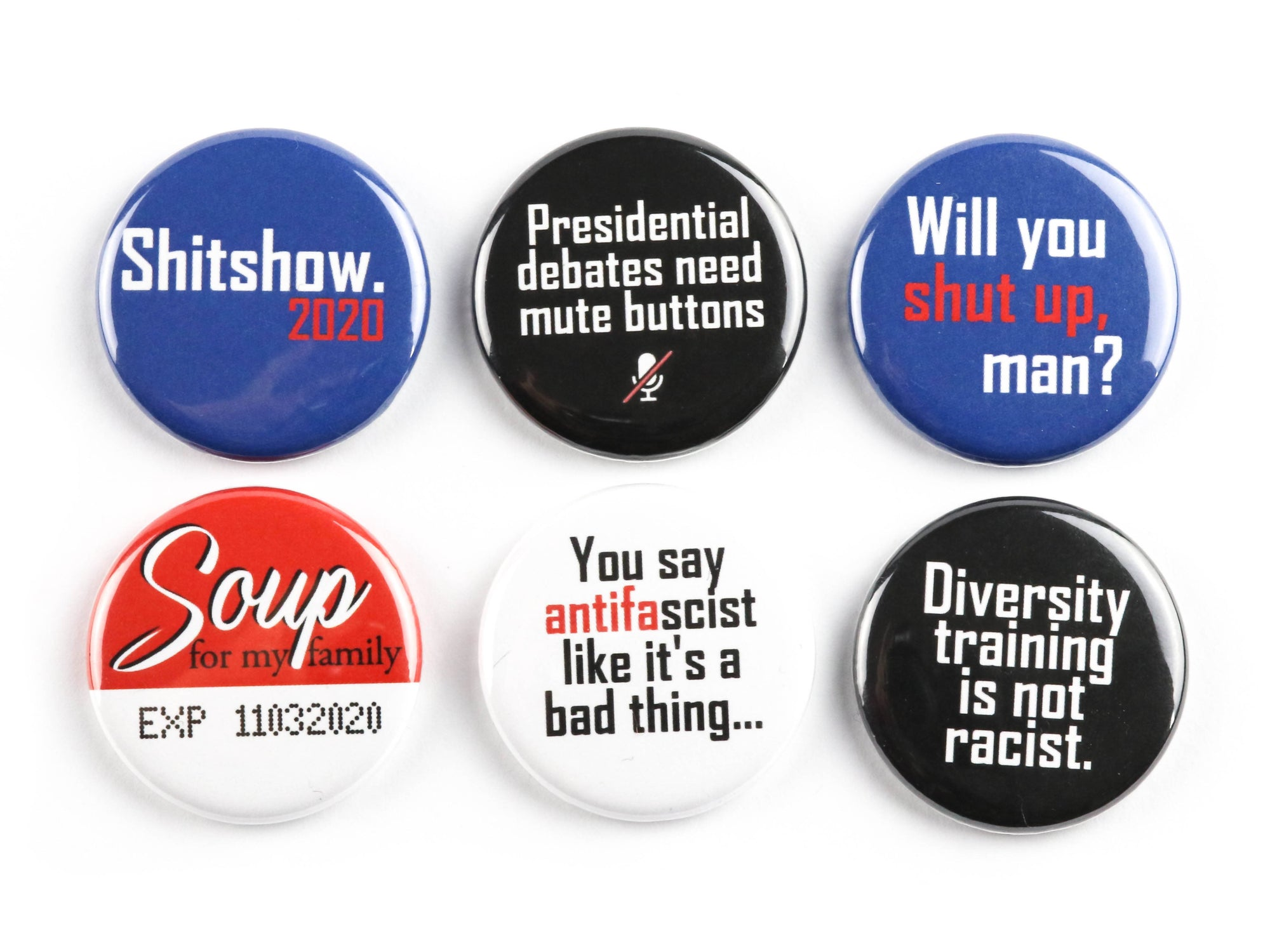 Sh*tshow 2020 Button or Magnet Packs (Choose your 3pk)