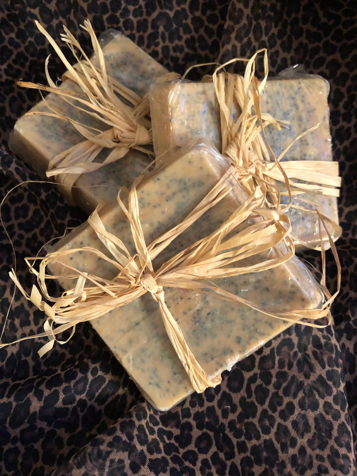 Lemon Poppy Seed Sensitive Skin Soap