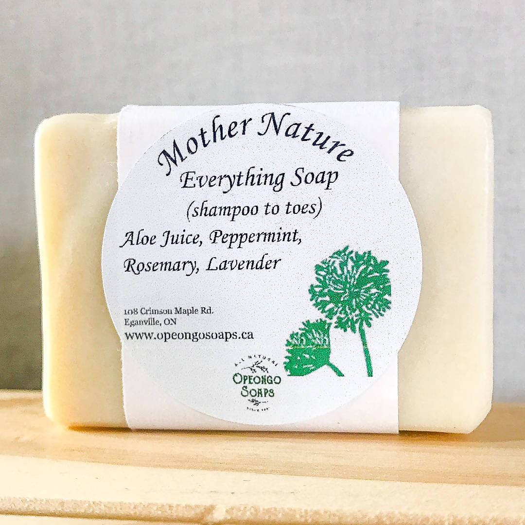 Everything Soap - Aloe Juice Peppermint Rosemary Lavender