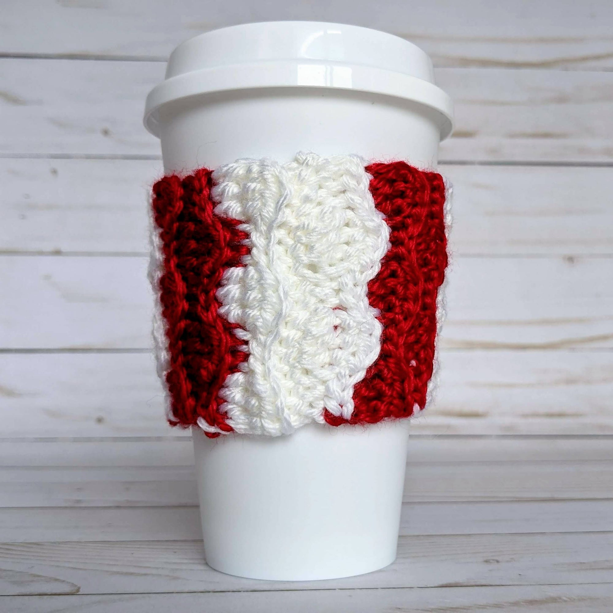 Reusable Holiday Coffee Cozy