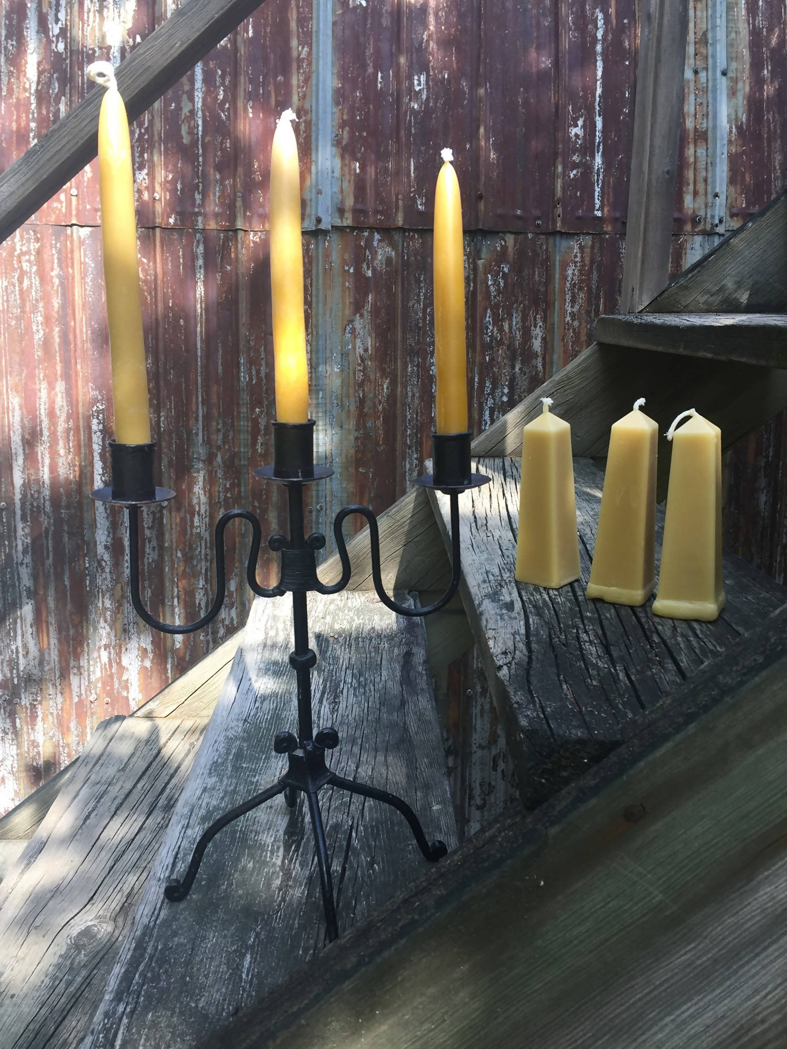 Beeswax Candles - Obliques