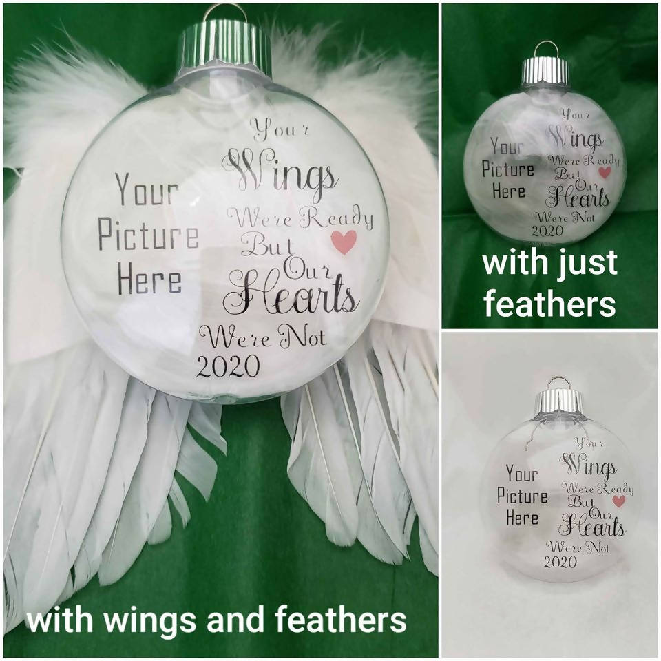Memorial Christmas Ornaments (FRENCH Available)