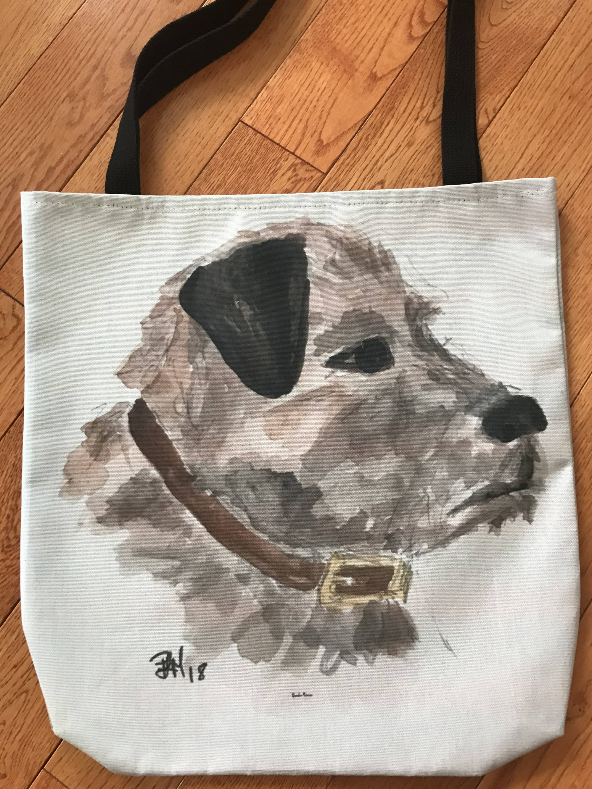 Border Terrier Canvas Bag