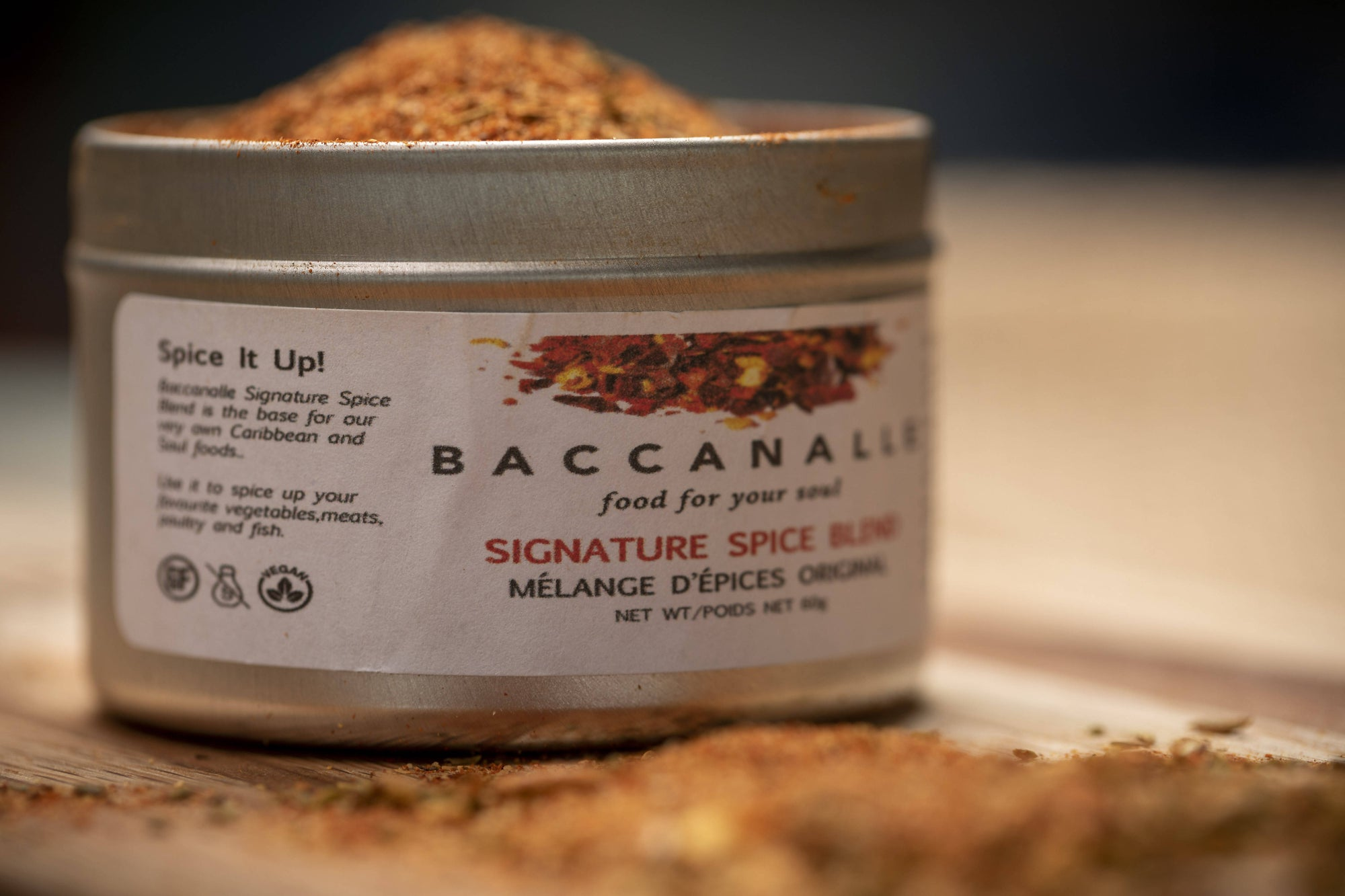 Baccanalle Signature Spice Blend