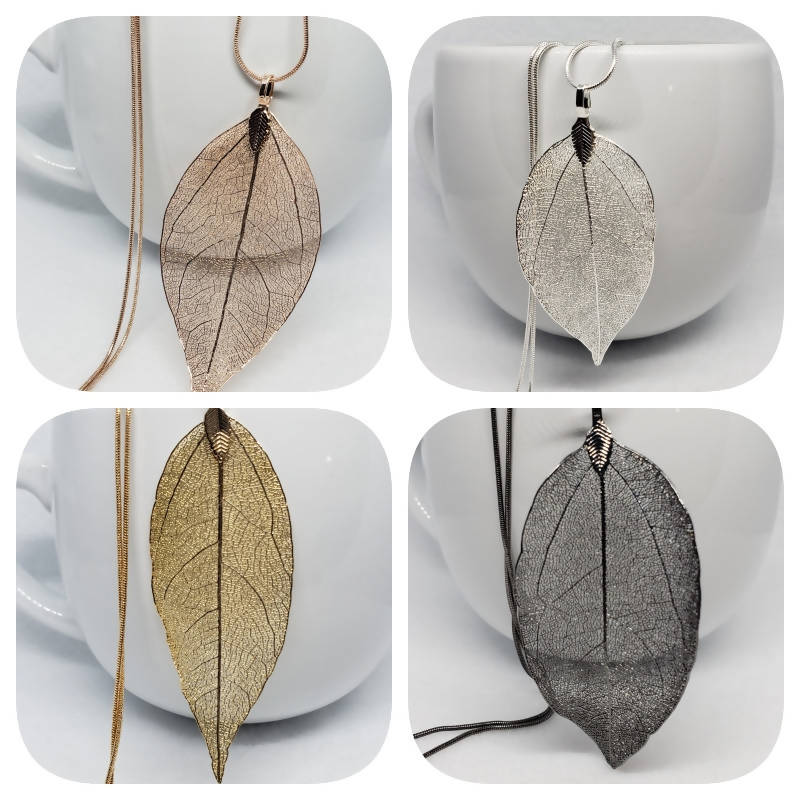 """FREE SHIPPING"" Leaf Necklace"