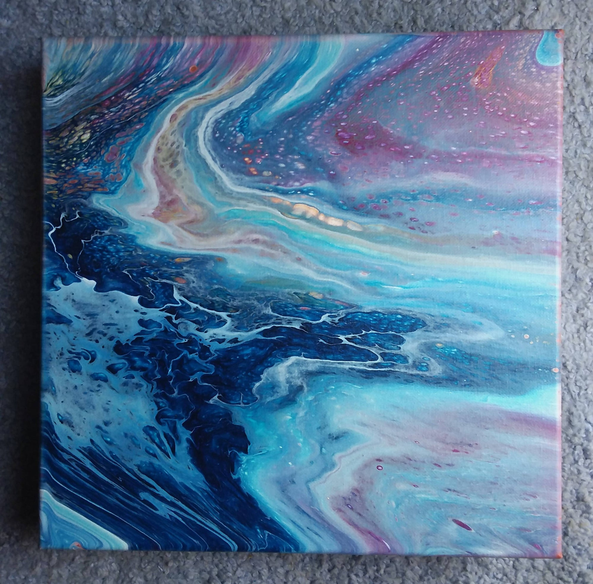 Fluid Acrylic Painting