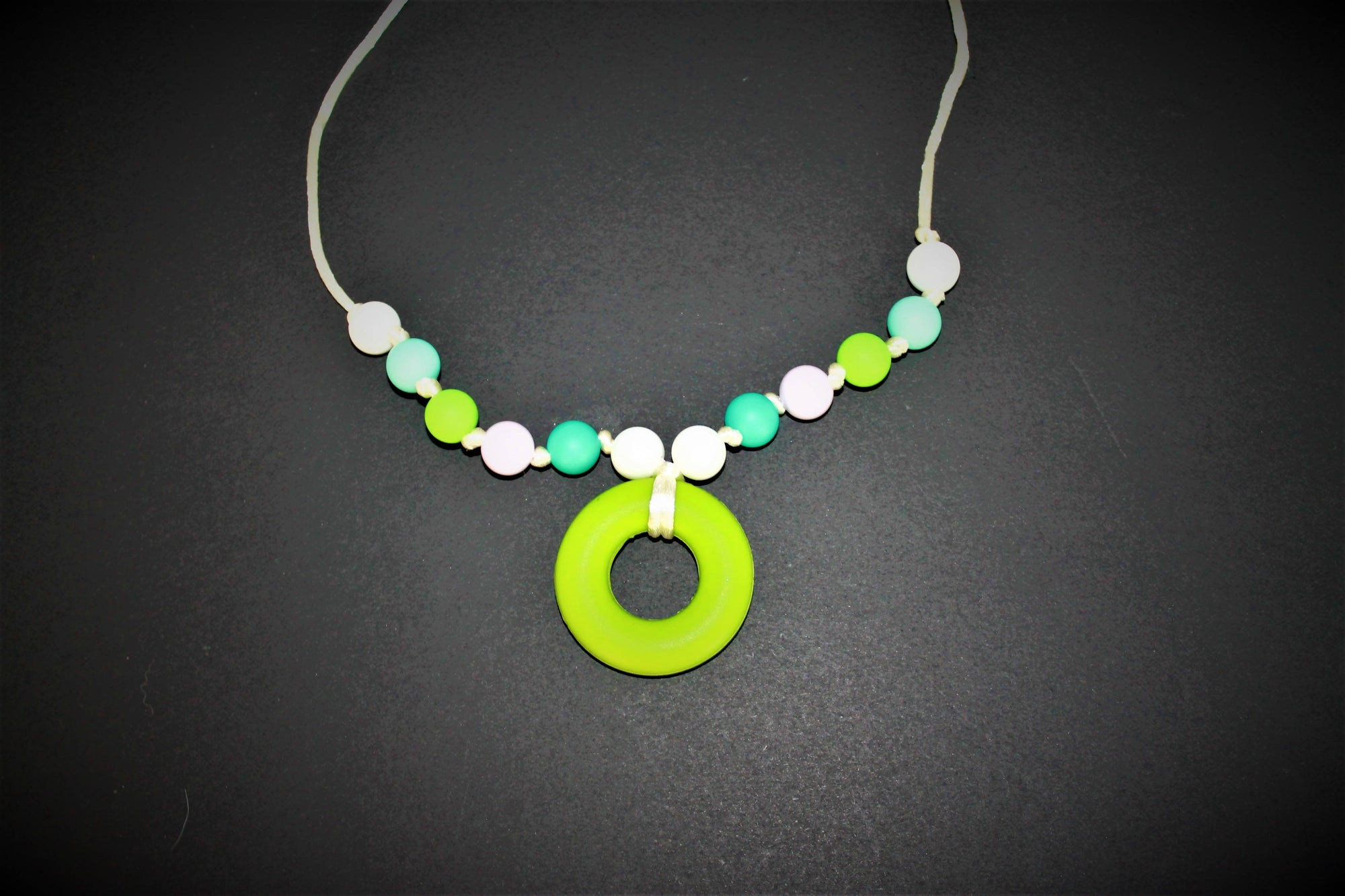 Lime Break Away Necklace