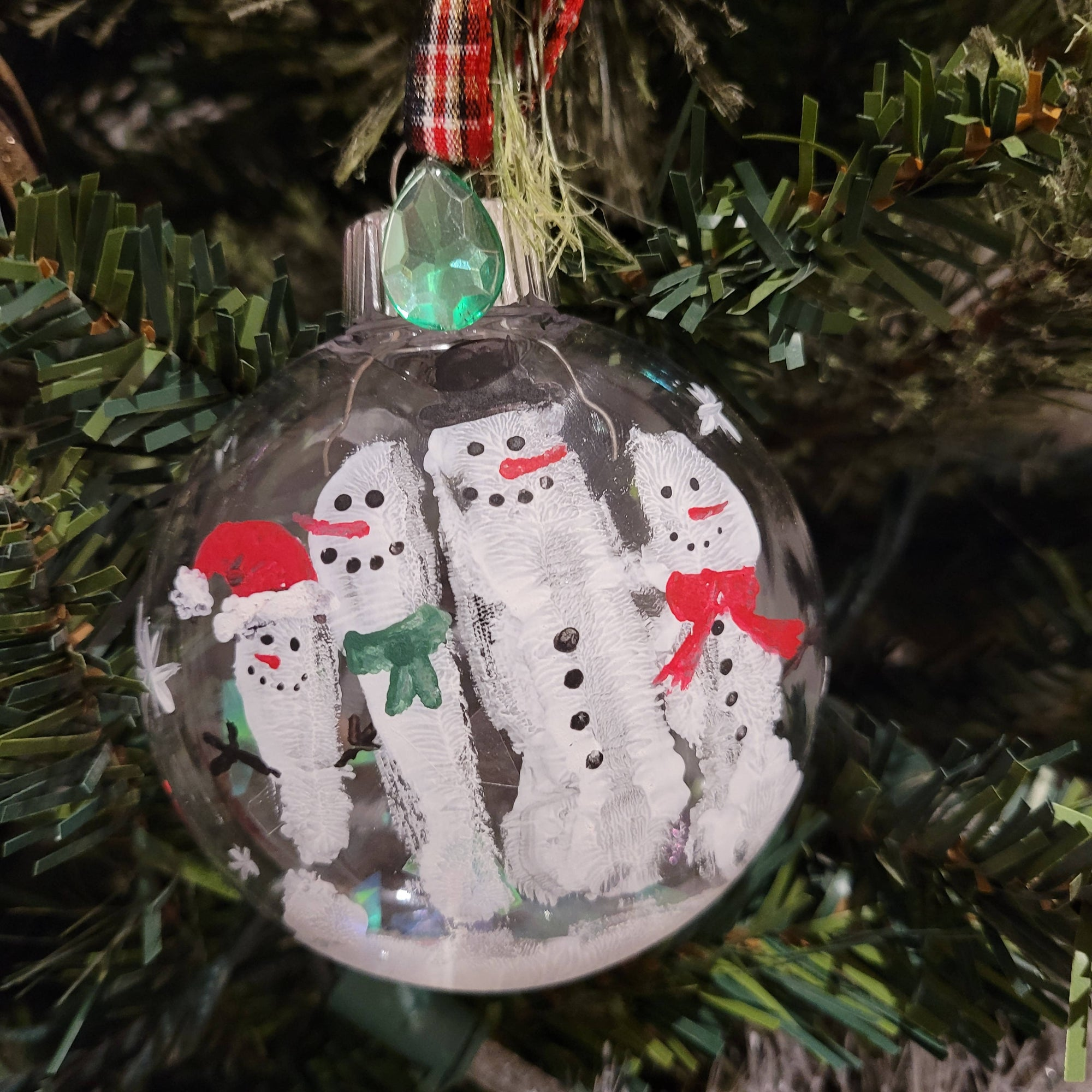 DIY snowman ornament kit