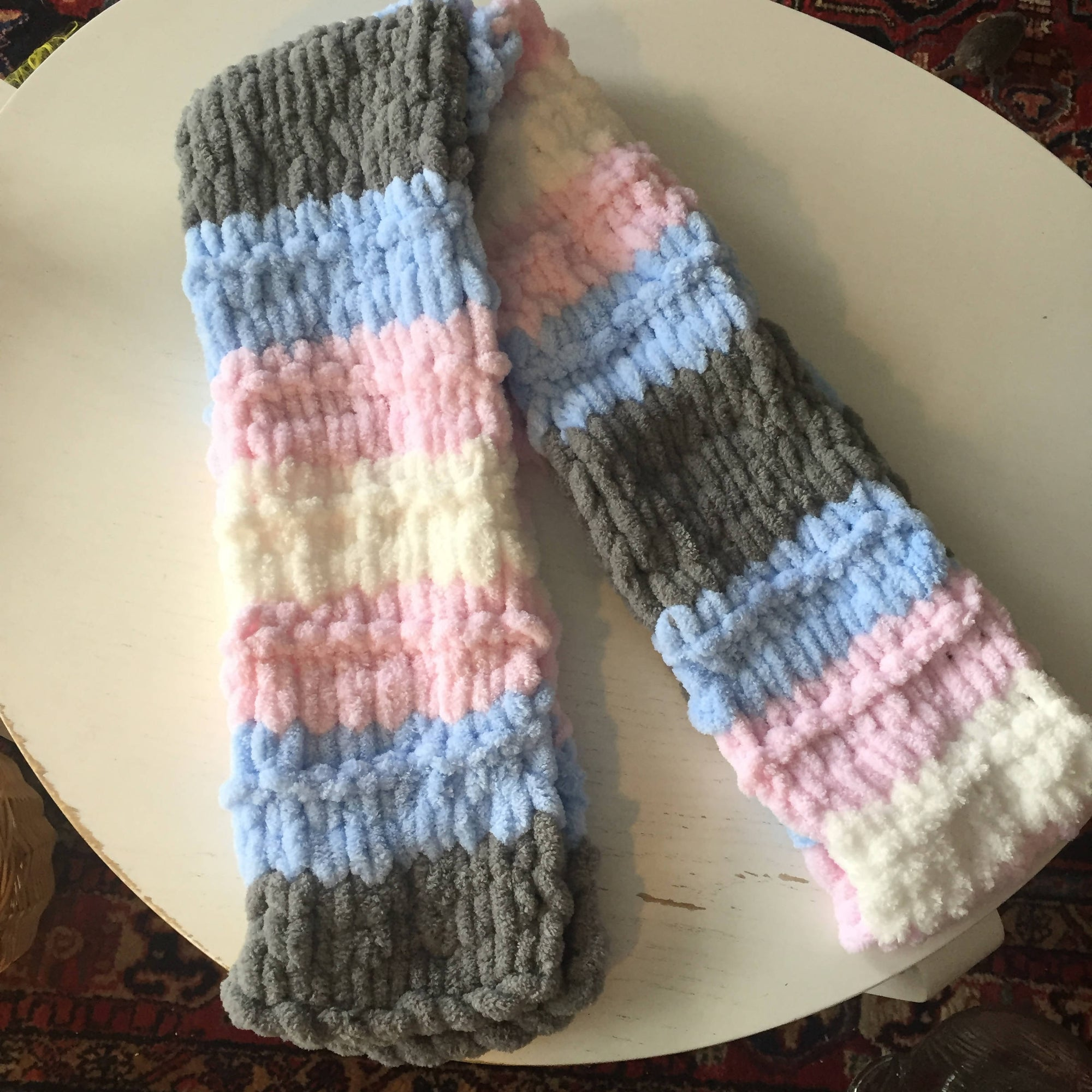 Extra-Long Trans Pride Scarf