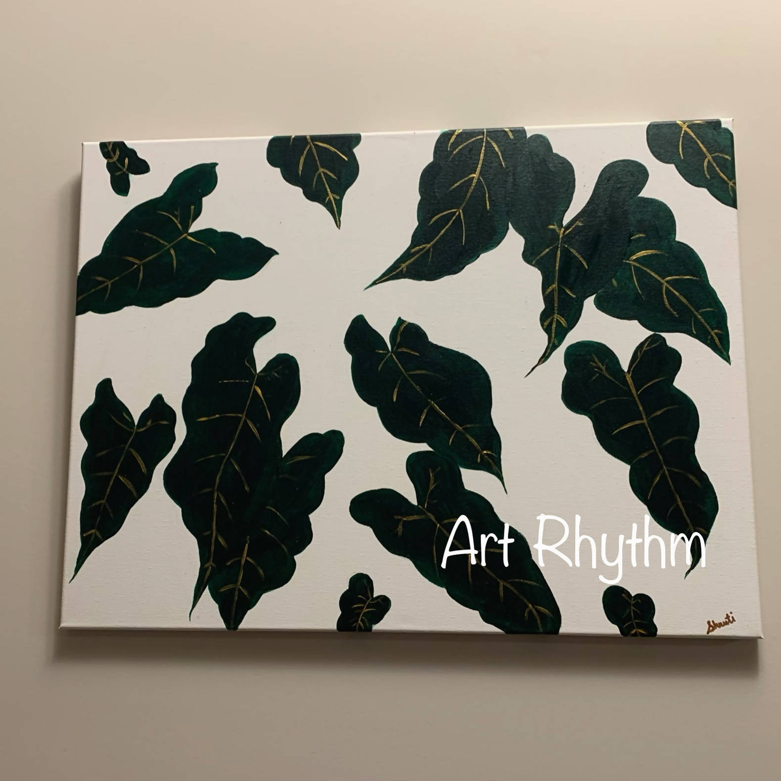 Leaves Canvas Painting