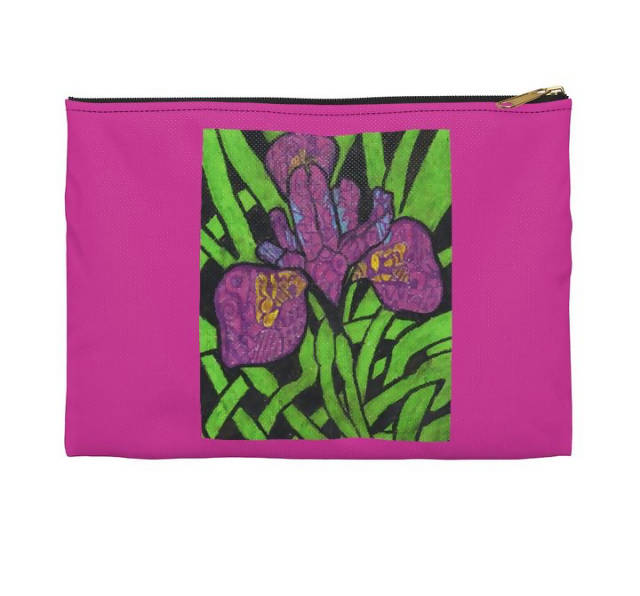 Purple Goddess Accessory Pouch - Large
