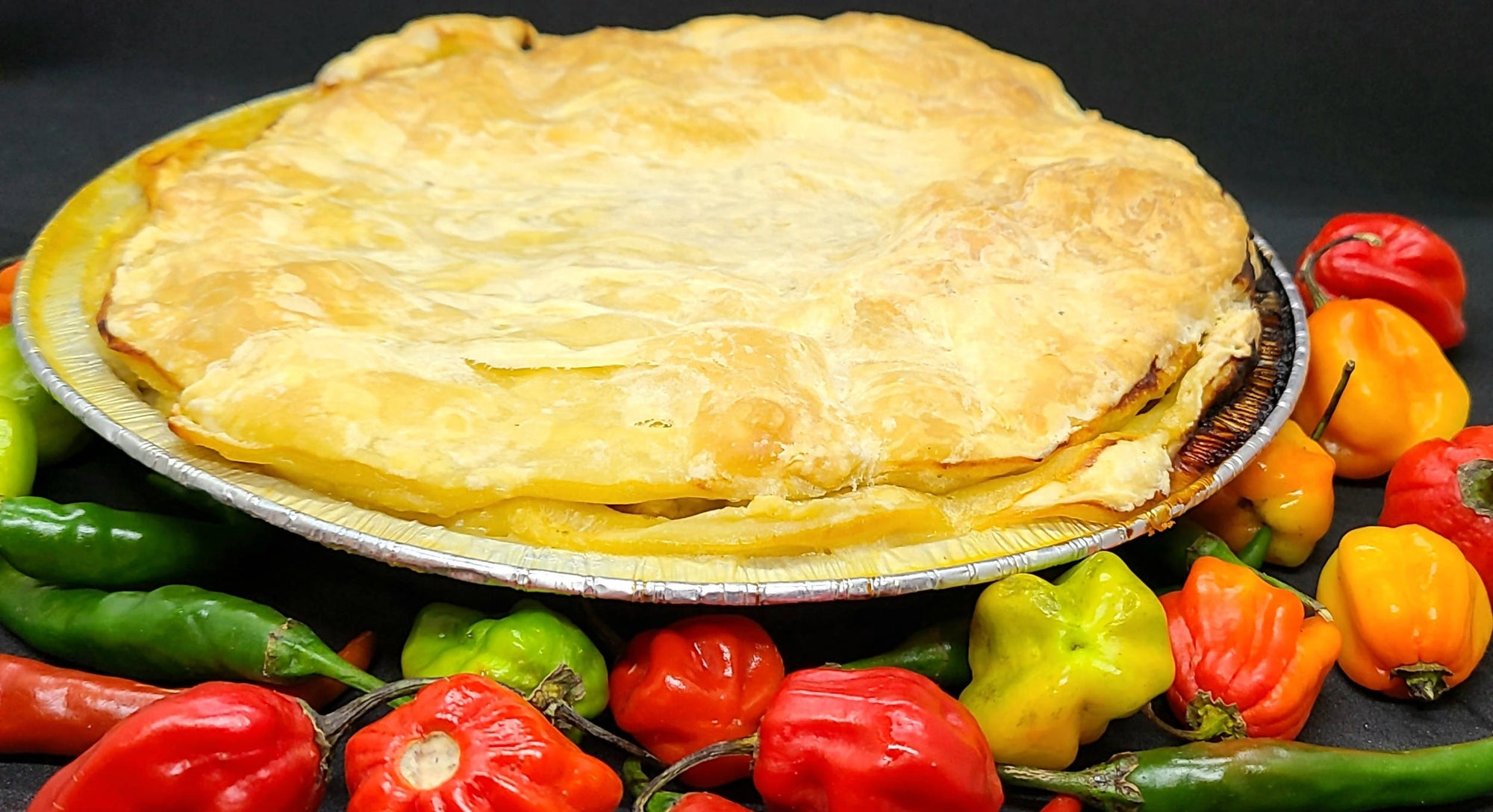 CREOLE CHICKEN POT PIE