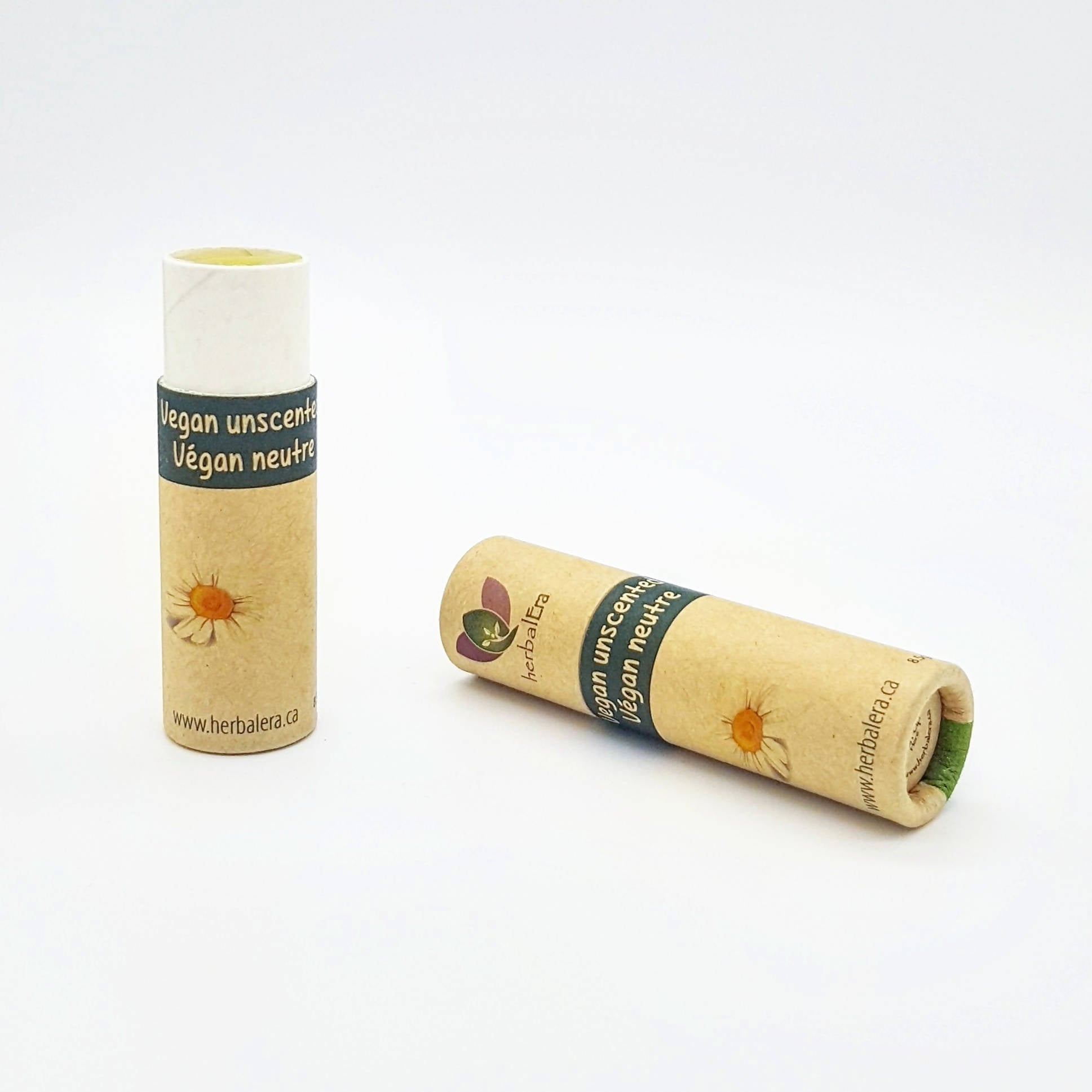 Vegan unscented lip balm 8,5g (0,3oz)