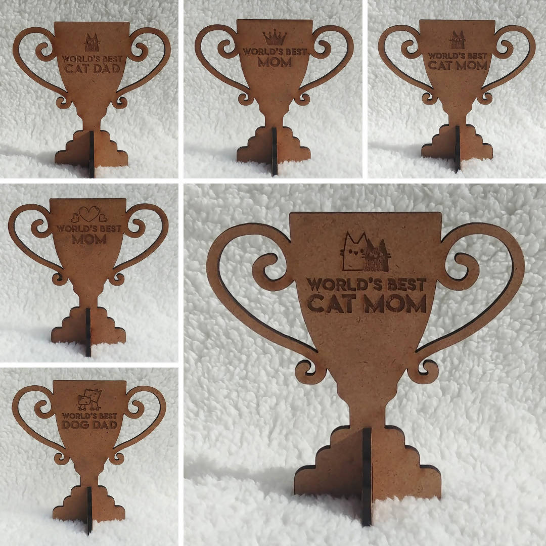 SALE: World's Greatest Mini Trophies