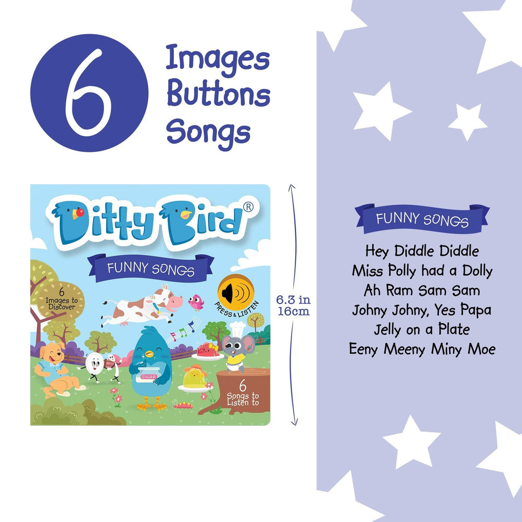 Ditty Bird Children's book Ditty Bird - Funny Songs