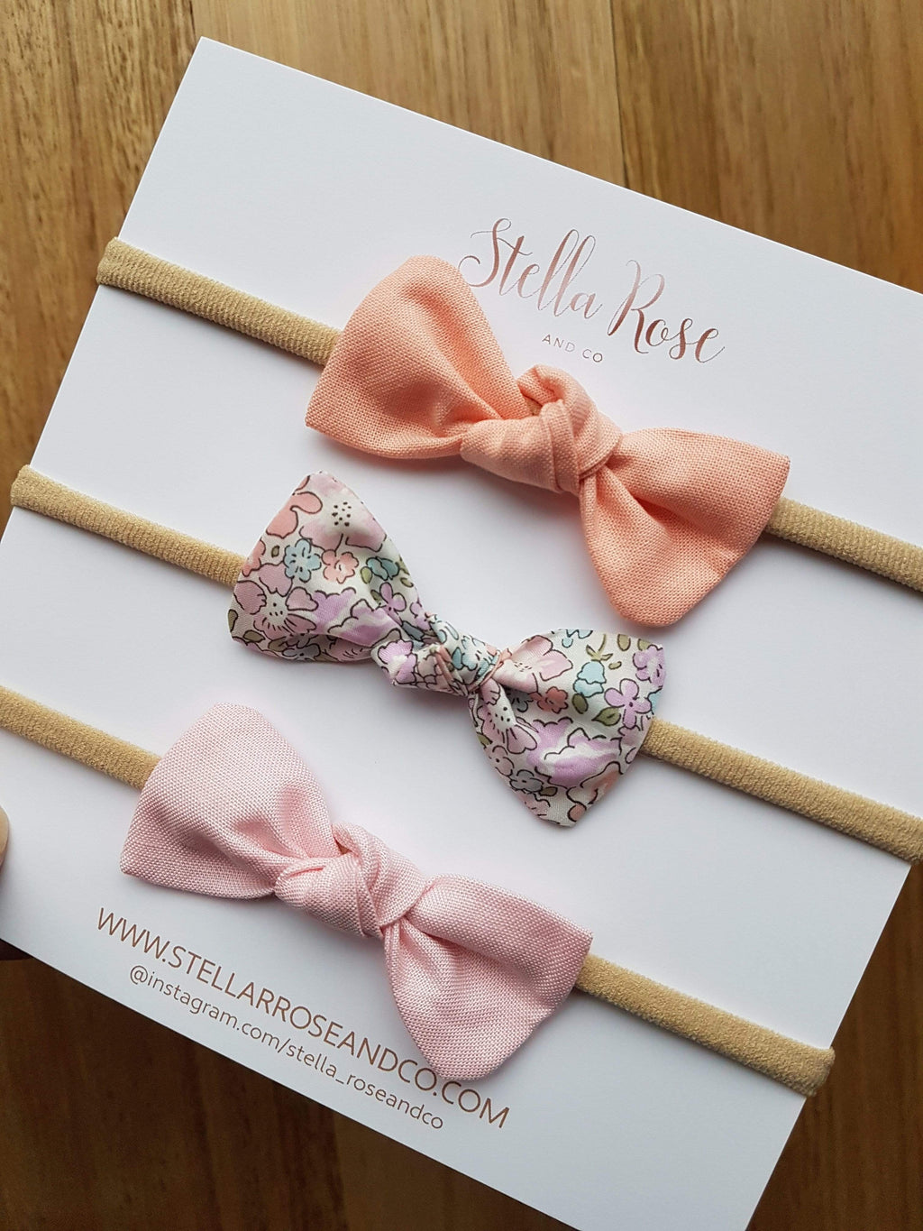 Raspberry Lane Boutique Adeline Knot Bow - Head Bands