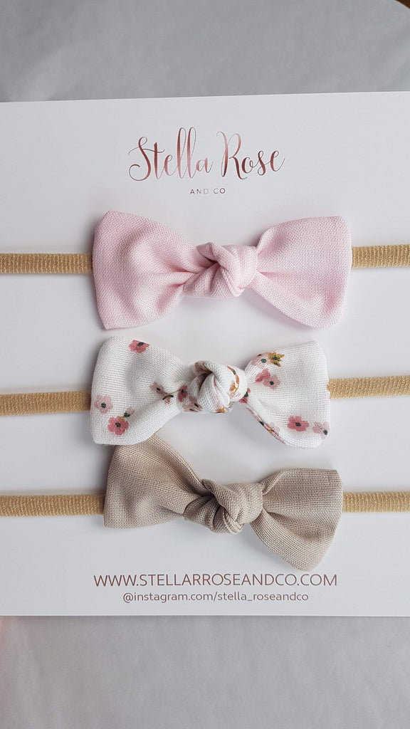 Raspberry Lane Boutique Aubree Knot Bow - Head Bands