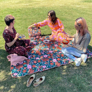 Raspberry Lane Boutique Auburn Day Picnic Rug - The Somewhere Co.