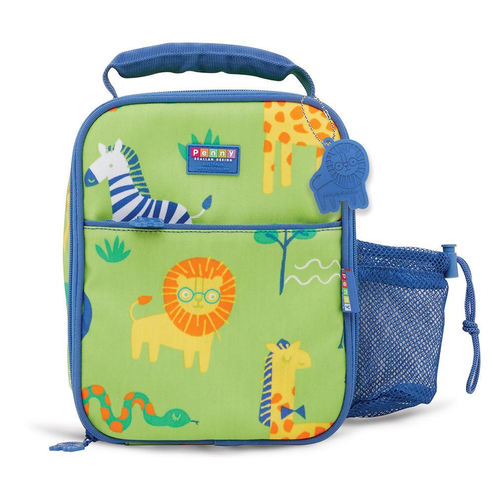 Raspberry Lane Boutique Bento Cooler Bag With Pocket - Wild Thing