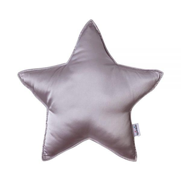 Raspberry Lane Boutique Charmeuse Star Pillow - Hushed Violet