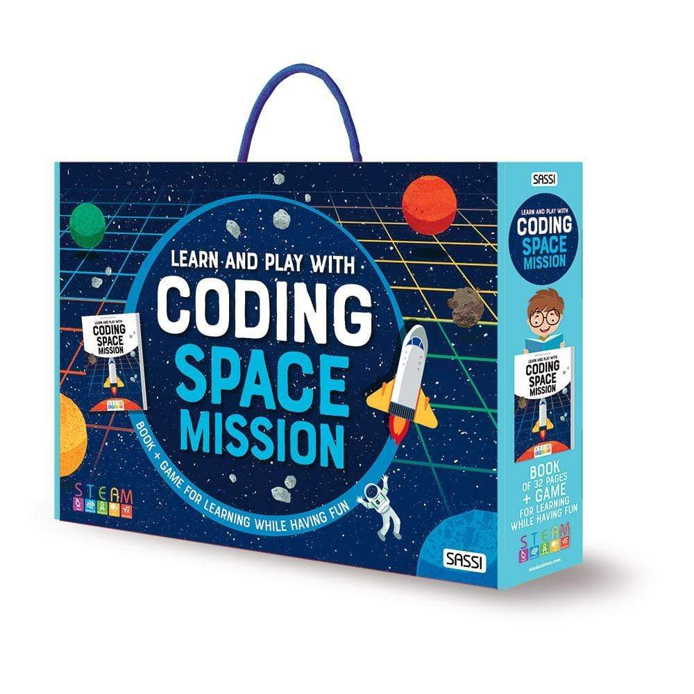 Raspberry Lane Boutique Coding: Space Mission - Learn & Play with Coding