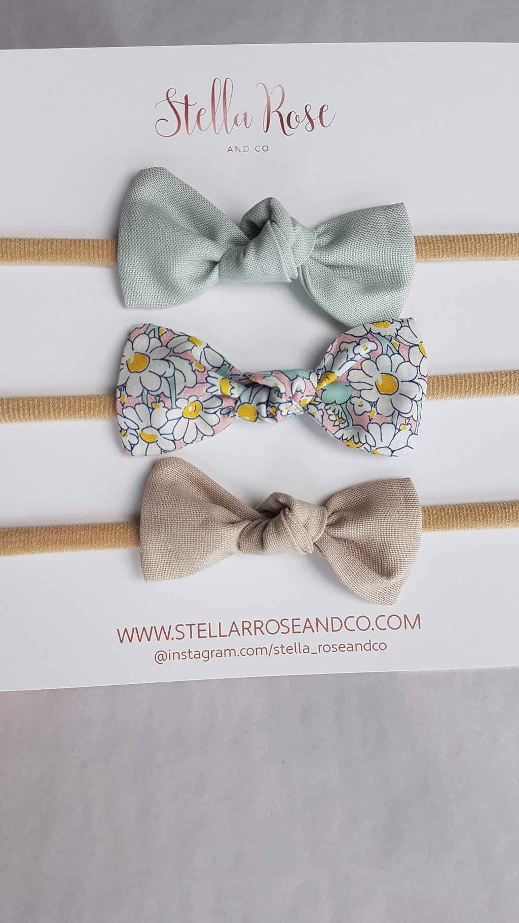 Raspberry Lane Boutique Daisy Knot Bow - Head Bands