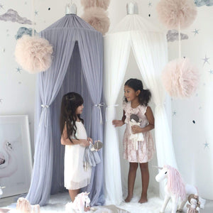 Raspberry Lane Boutique Dreamy Canopy - Light Grey
