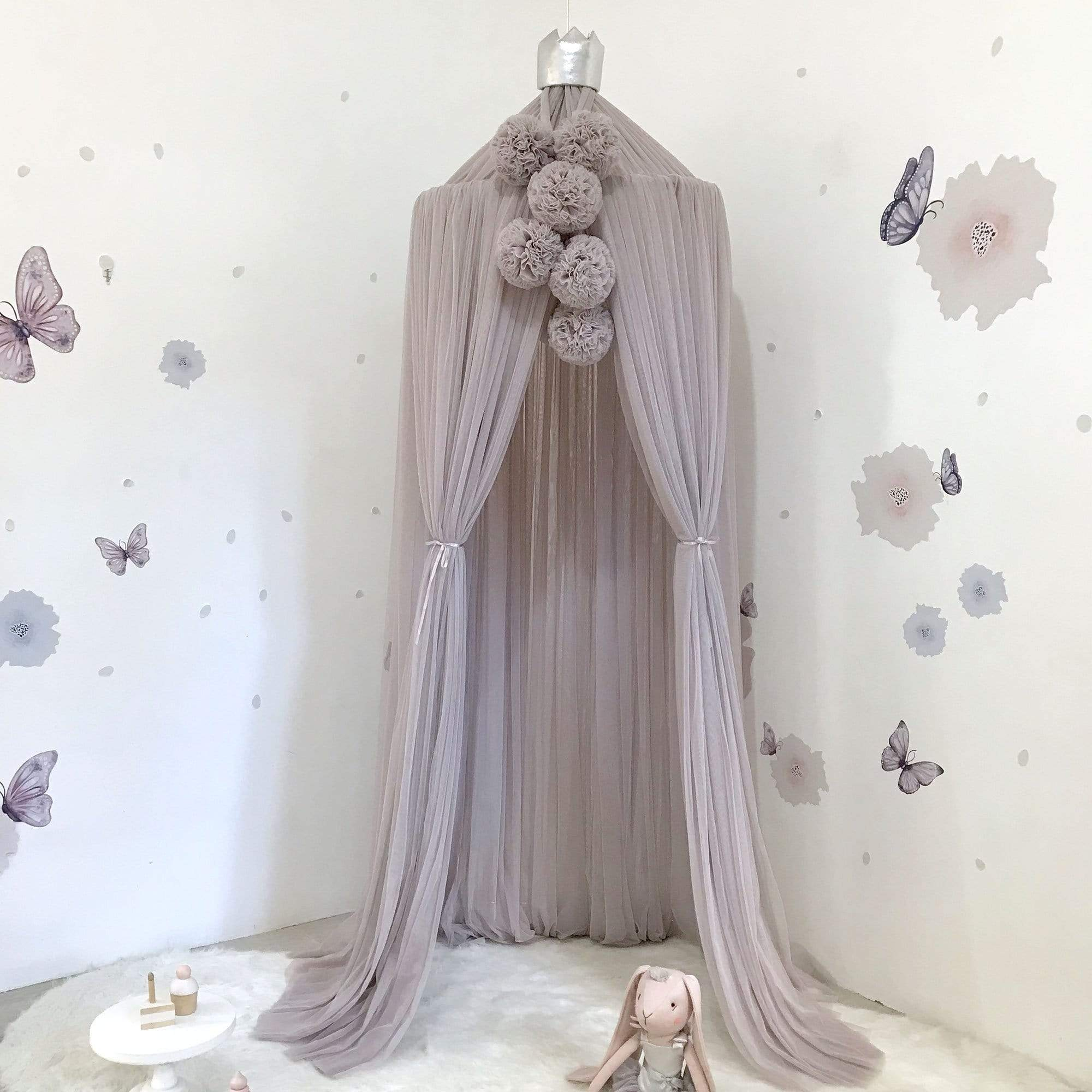 Raspberry Lane Boutique Dreamy Canopy - Oyster