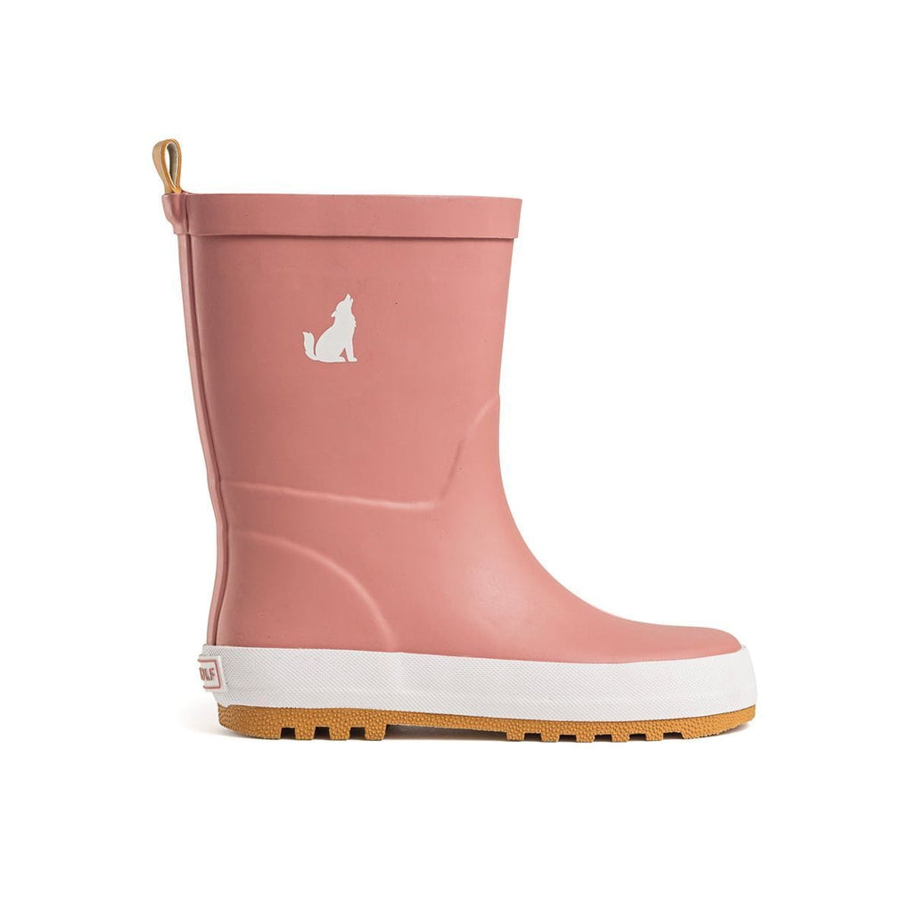 Raspberry Lane Boutique Dusty Rose Rain Boots - Crywolf