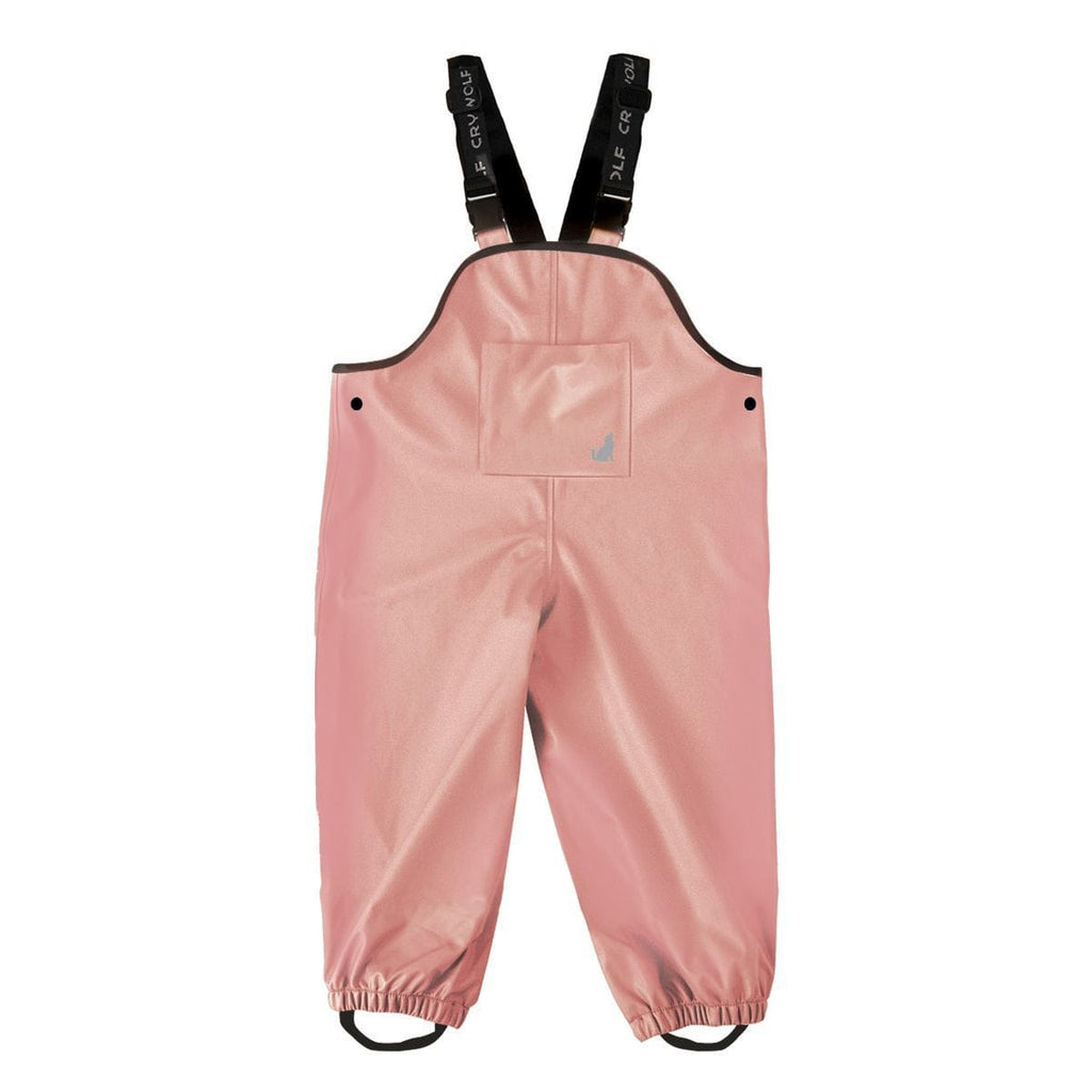 Raspberry Lane Boutique Dusty Rose Rain Overalls - Crywolf