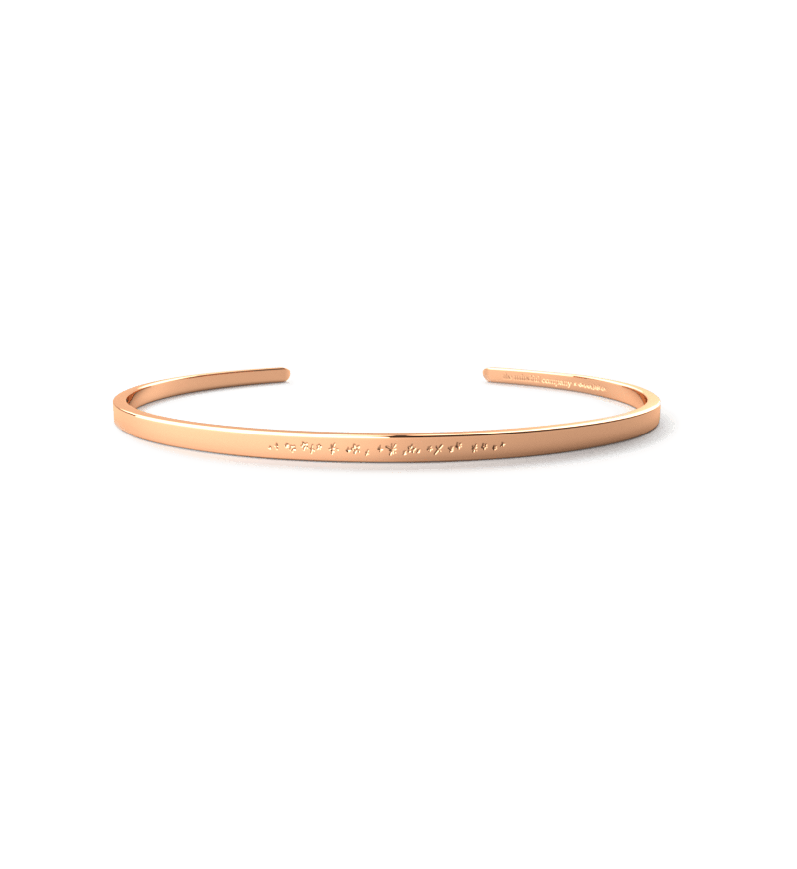 Raspberry Lane Boutique EmmaKate co - Stardust Cuff - Rose Gold