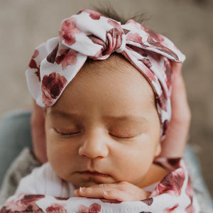 Raspberry Lane Boutique Fleur Top Knot Headband