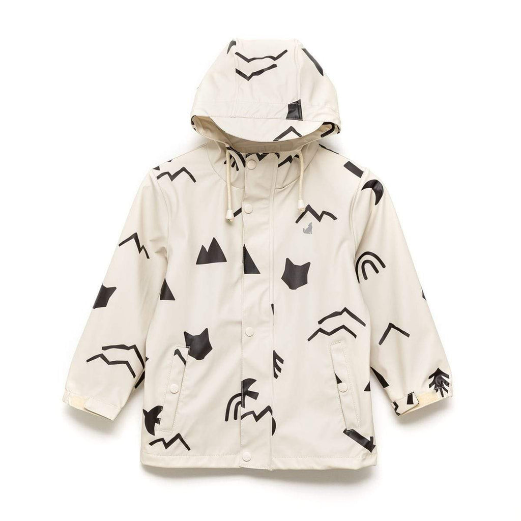 Raspberry Lane Boutique Happy Camper Play Jacket - Crywolf
