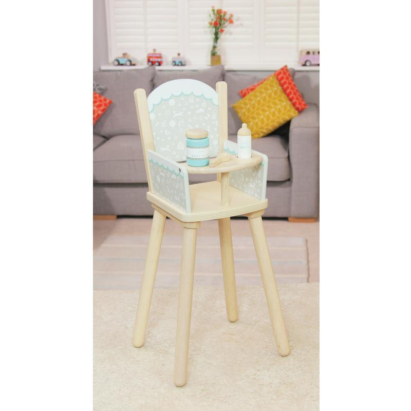 Raspberry Lane Boutique Indigo Jamm - Petworth Doll's Highchair