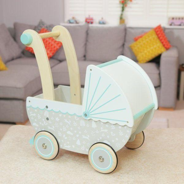 Raspberry Lane Boutique Indigo Jamm - Petworth Doll's Pram