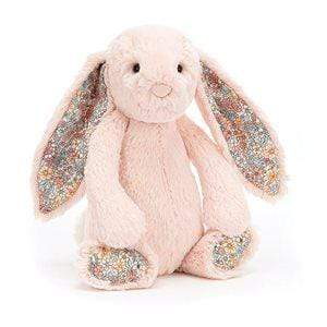Raspberry Lane Boutique Jellycat Bunny - Small Blush Blossom