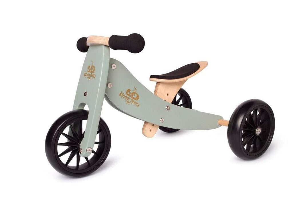Raspberry Lane Boutique Kinderfeets Tiny Tot Trike - Sage