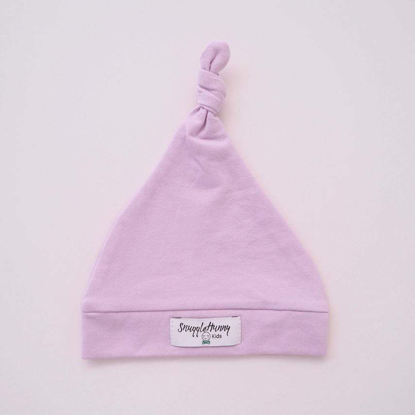 Raspberry Lane Boutique Lilac Knotted Beanie