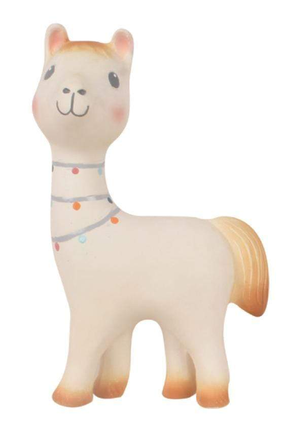 Raspberry Lane Boutique Lilith the Llama, Baby Teether and Rattle - Tikiri