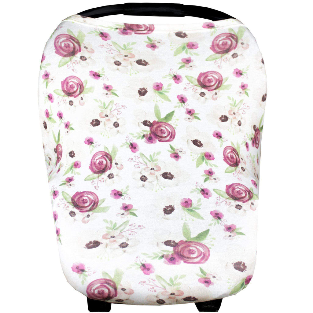 Raspberry Lane Boutique Multi Use Baby Cover - Violet