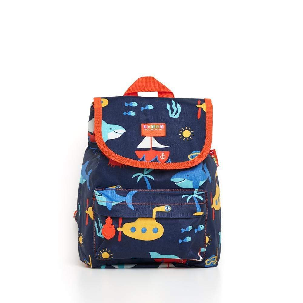 Raspberry Lane Boutique Penny Scallan Anchors Away Top Loader Backpack