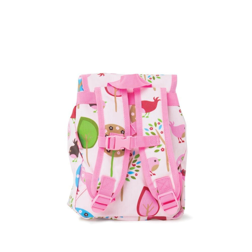 Raspberry Lane Boutique Penny Scallan Chirpy Bird Top Loader Backpack