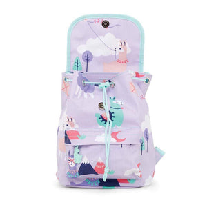 Raspberry Lane Boutique Penny Scallan Loopy Llama Top Loader Backpack