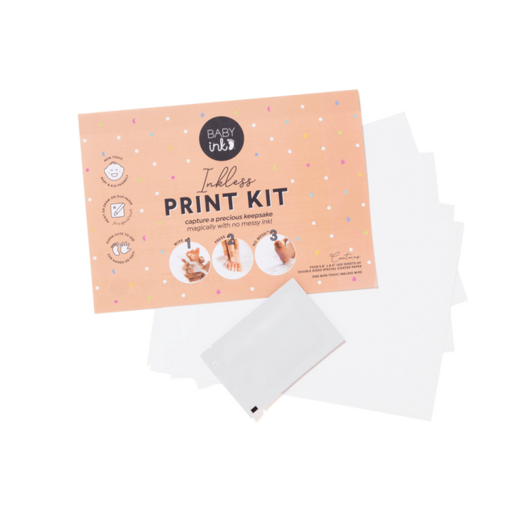 Raspberry Lane Boutique Pink Inkless Baby Print Kit