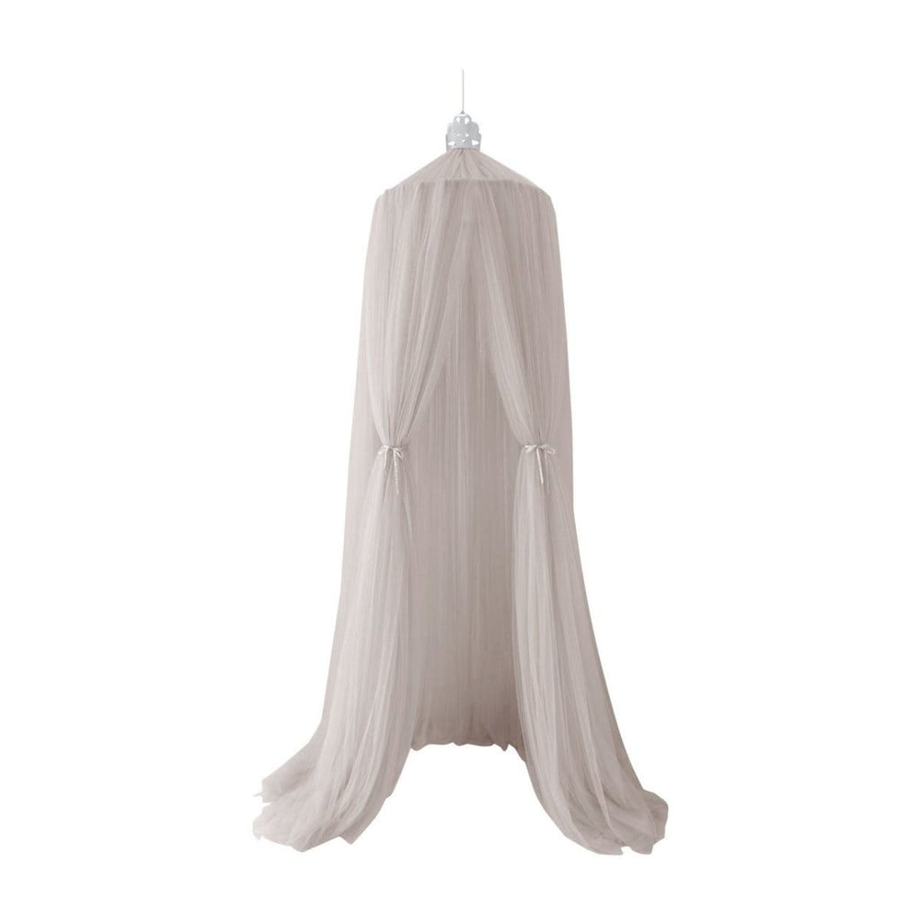 Raspberry Lane Boutique Princess Dreamy Canopy - Grey