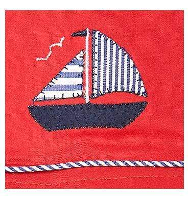 Raspberry Lane Boutique S Toshi Nautical Hat - Cayenne