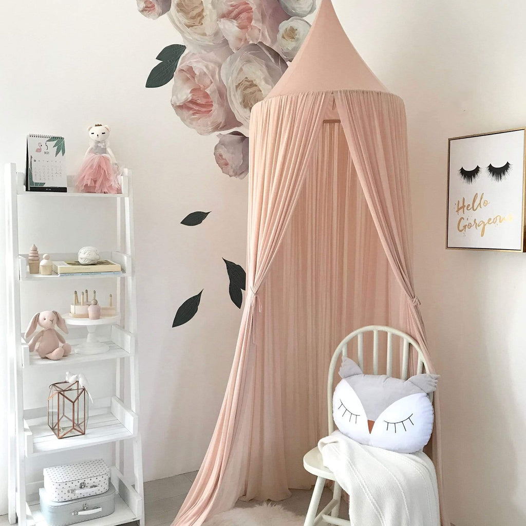 Raspberry Lane Boutique Sheer Canopy - Nude